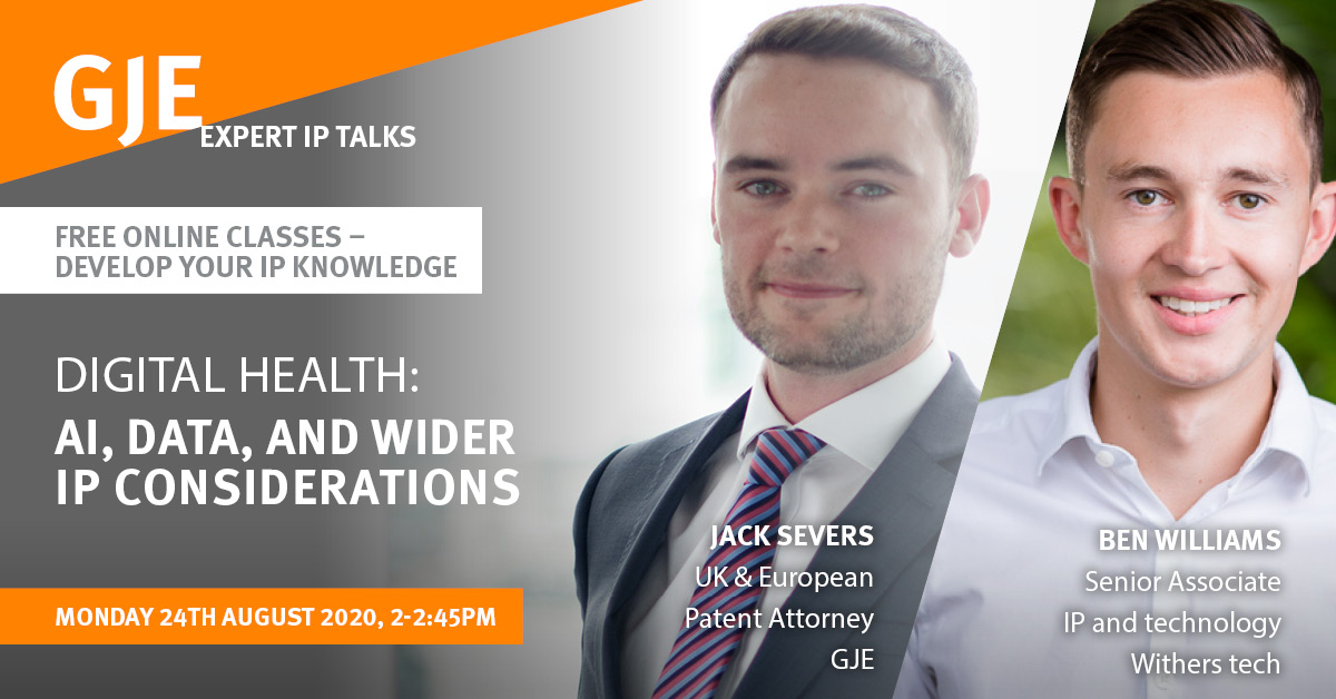 Digital Health: AI, Data, and Wider IP Considerations
